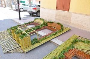 San Biagio Platani: Archi di Pasqua 2014…Montaggio, Giorno 2