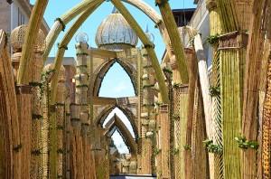 San Biagio Platani: Archi di Pasqua 2014…Montaggio, Giovedì Santo