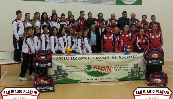 Volley: Grande entusiasmo, presentate le squadre Sperikotta Volley domani su AGTV.