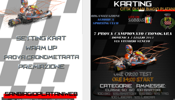 2° Trofeo Karting Città di San Biagio Platani TRAILER
