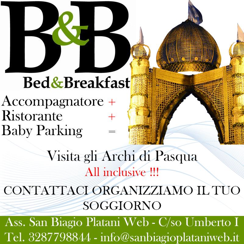 B&B, Alloggi, Guide Turistiche San Biagio Platani